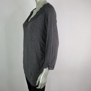 Maurices Tops - Maurices Womens Tunic Top Size XL Open Back
